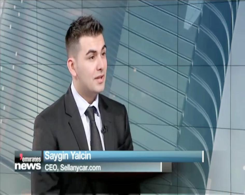 Saygin Yalcin » Saygin Yalcin on Emirates News Dubai One TV