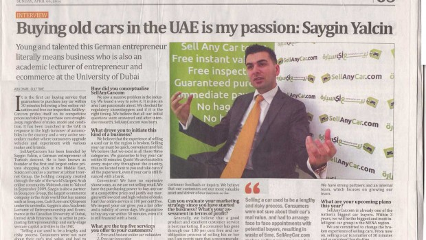 Buying Old Cars in the UAE is my Passion: Saygin Yalcin